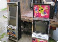 Уничтожение изъятых игровых автоматов